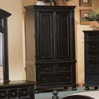 Miami Springs Armoire Finish: Ebony