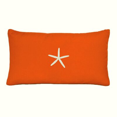 Bradenton Beach Lumbar Pillow Color: Melon