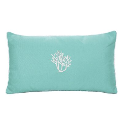Land O Lakes Beach Sunbrella Outdoor Lumbar Pillow Color: Glacier Blue