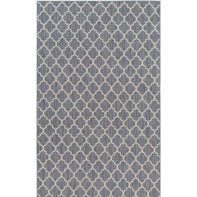 Central Pasco Gray/Beige Indoor/Outdoor Area Rug Rug Size: 9 x 13