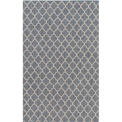 Chesterville Gray/Beige Indoor/Outdoor Area Rug Rug Size: Rectangle 4 x 6