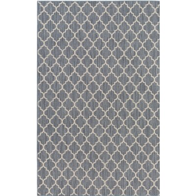 Chesterville Gray/Beige Indoor/Outdoor Area Rug Rug Size: 8 x 10