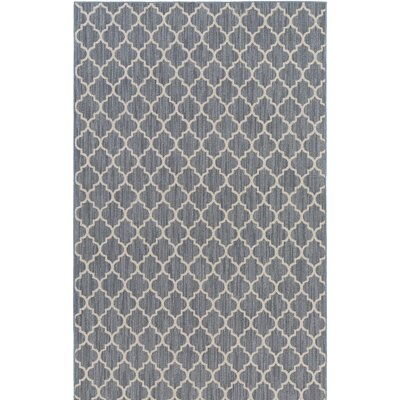 Chesterville Gray/Beige Indoor/Outdoor Area Rug Rug Size: Rectangle 9 x 12