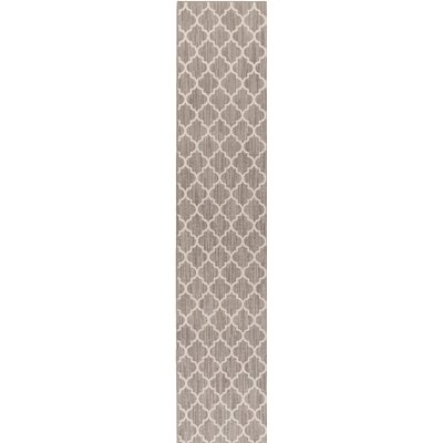 Chesterville Gray/Beige Indoor/Outdoor Area Rug Rug Size: Runner 2 x 12