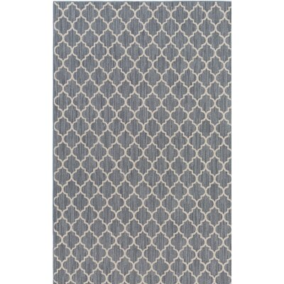 Chesterville Gray/Beige Indoor/Outdoor Area Rug Rug Size: Rectangle 5 x 8