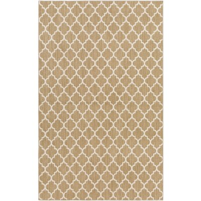 Central Volusia Beige Indoor/Outdoor Area Rug Rug Size: Rectangle 10' x 14'