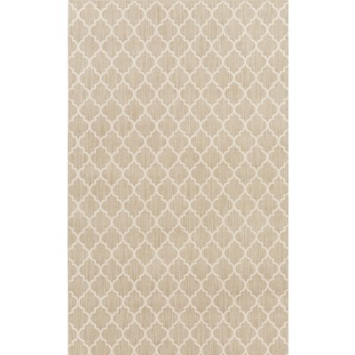 Central Volusia Beige Area Rug Rug Size: 5 x 8