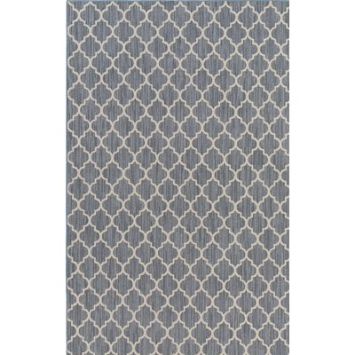Chesterville Gray/Beige Indoor/Outdoor Area Rug Rug Size: 3 x 5