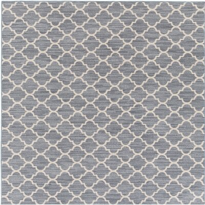Chesterville Gray/Beige Indoor/Outdoor Area Rug Rug Size: Square 4