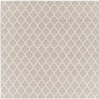 Central Volusia Gray Indoor/Outdoor Area Rug Rug Size: Square 6
