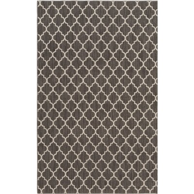 Central Volusia Gray Indoor/Outdoor Area Rug Rug Size: 12 x 15