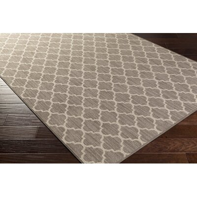 Chesterville Brown Indoor/Outdoor Area Rug Rug Size: Round 4