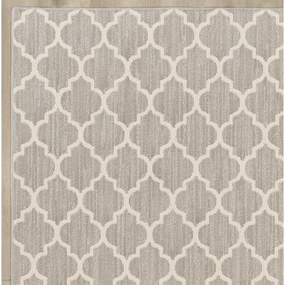 Central Volusia Gray Indoor/Outdoor Area Rug Rug Size: Round 4'