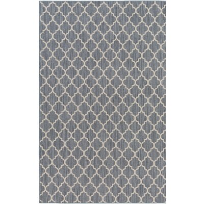 Chesterville Gray/Beige Indoor/Outdoor Area Rug Rug Size: 10 x 14
