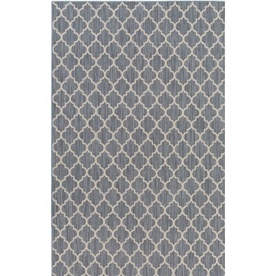 Chesterville Gray/Beige Indoor/Outdoor Area Rug Rug Size: 2 x 3
