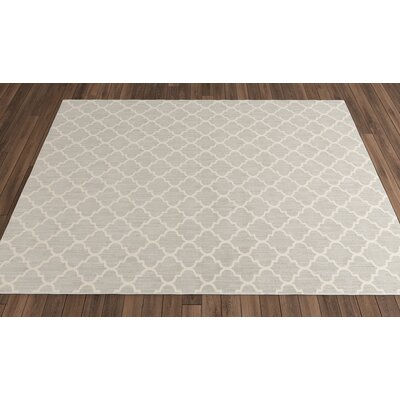 Central Volusia Gray Indoor/Outdoor Area Rug Rug Size: Round 10