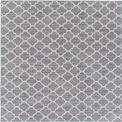 Chesterville Gray/Beige Indoor/Outdoor Area Rug Rug Size: Square 6