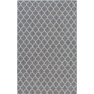 Chesterville Gray/Beige Indoor/Outdoor Area Rug Rug Size: Rectangle 12 x 15