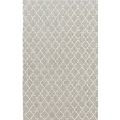 Central Volusia Gray Indoor/Outdoor Area Rug Rug Size: 5 x 8