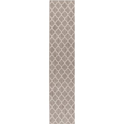 Chesterville Gray/Beige Indoor/Outdoor Area Rug Rug Size: Runner 2 x 8