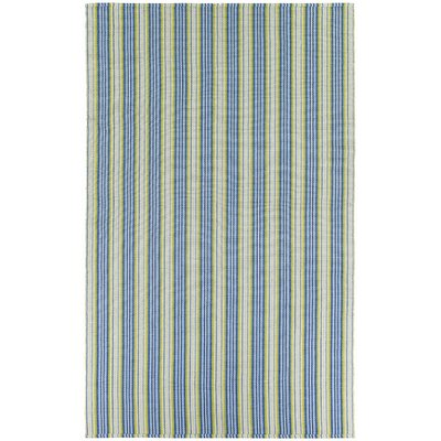 Artique Green/Blue Area Rug Rug Size: Runner 23 x 8