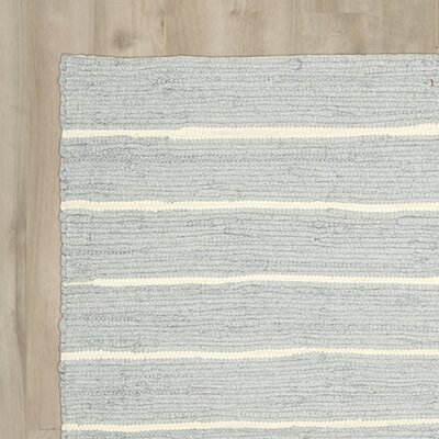 Lundholm Hand-Woven Light Gray Area Rug