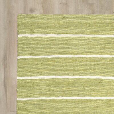 Gwyneth Groovy Grille Green Area Rug