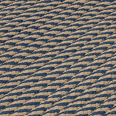 Mammari Striped Hand-Woven Blue Indoor/Outdoor Area Rug Rug Size: Runner 2 x 6