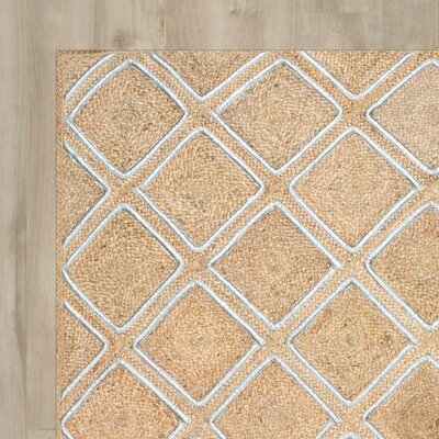 Withams Tan Area Rug Rug Size: 86 x 116