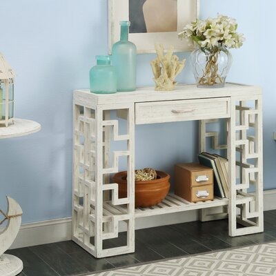Neponset Console Table Finish: Cream