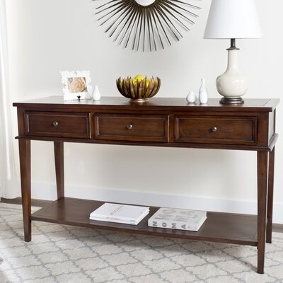Emerson Console Table Color: Sepia