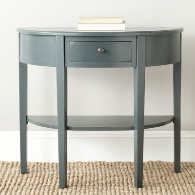 North De Land Console Table Color: Steel Teal