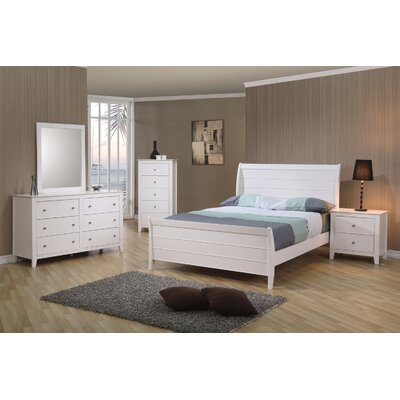 Clarendon 6 Drawer Double Dresser with Mirror