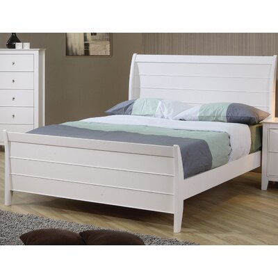 Clarendon Twin Sleigh Bed Size: Twin