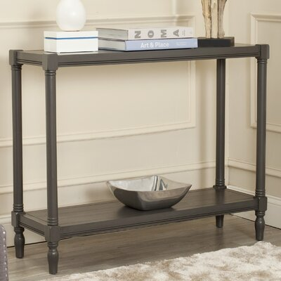Belville Console Table Color: Grey
