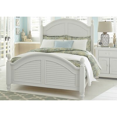 Kendall Green Panel Bed Size: Queen