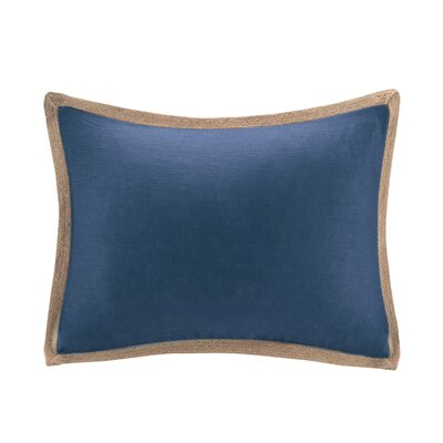 Chapin Linen with Jute Trim Throw Pillow