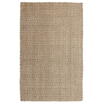 Zulma Hand-Woven Natural Area Rug Rug Size: 2 x 3