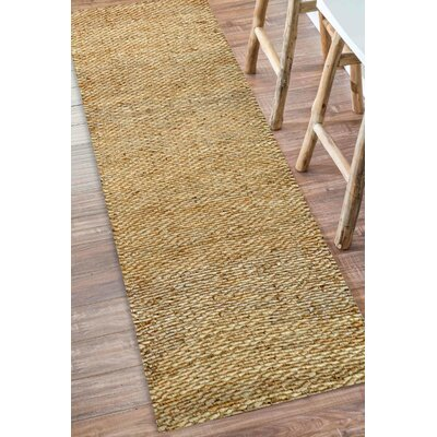 Southold Hand-Woven Brown Area Rug Rug Size: 4 x 6