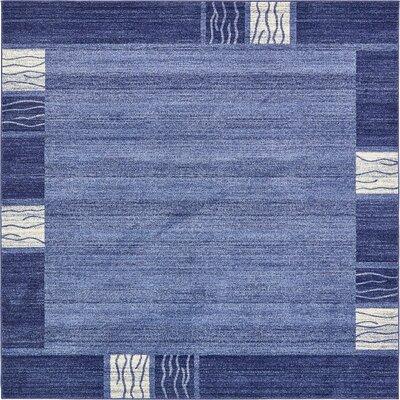 Chula Vista Blue Area Rug Rug Size: Square 8