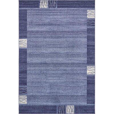 Chula Vista Blue Area Rug Rug Size: 6 x 9