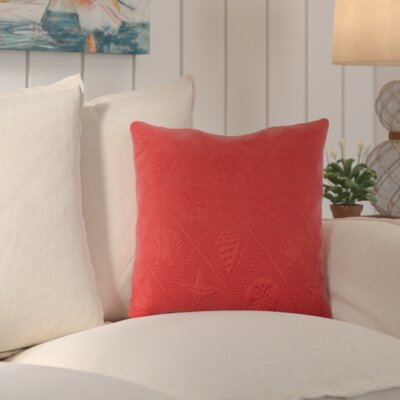 Aventura Throw Pillow Color: Claret