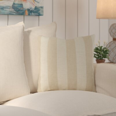 Stillwater Throw Pillow Size: 18 H x 18 W, Filler: Polyester