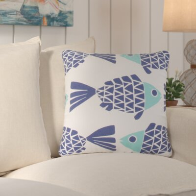 Lake Sarasota Outdoor Throw Pillow Color: Blue