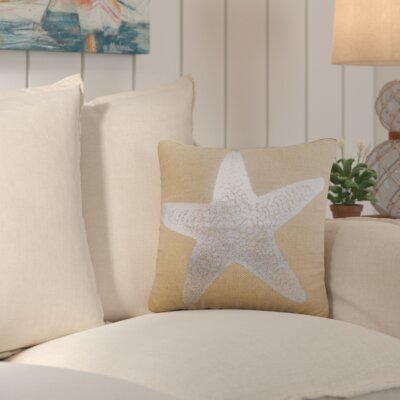 Winchester Burlap Throw Pillow Color: Silver