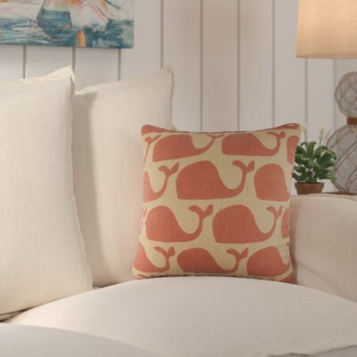 Trafalgar Burlap Throw Pillow