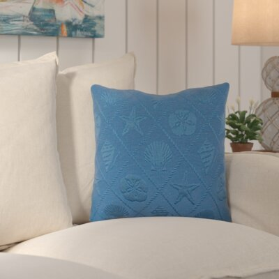 Aventura Throw Pillow Color: Lake