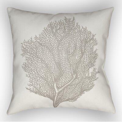 Brookline Coastal II Indoor/Outdoor Throw Pillow Size: 20 H x 20 W x 4 D, Color: Neutral