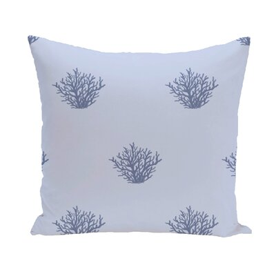 Rajashri Traditional Throw Pillow Size: 18 H x 18 W, Color: Light Blue / Blue