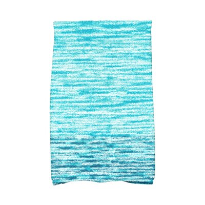 Solid Print Hand Towel Color: Teal